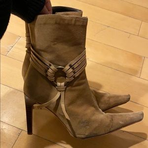 Charles David Suede Ankle Boots